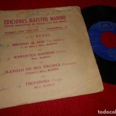 Discos de vinilo: ORQ.ESPAÑOLA+ORQ.MOROCCO+JORGE SEPULVEDA+RICARDO GABI EP 1971 MAESTRO MARINO PROMO. Lote 115754219