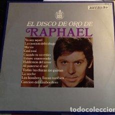 Discos de vinilo: EL DISCO DE ORO DE RAPHAEL LP.. Lote 115762168
