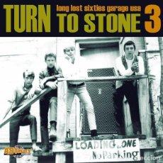 Discos de vinilo: VARIOUS – TURN TO STONE 3 (LONG LOST SIXTIES GARAGE USA) LP ROCKANDROLL GARAGE. Lote 115793859
