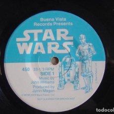 Discos de vinilo: STAR WARS - SINGLE 1979 - BUENA VISTA RECORDS. Lote 115892823