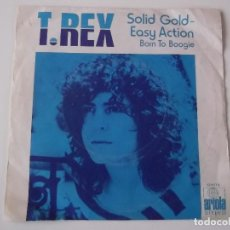 Discos de vinilo: T.REX - SOLID GOLD - EASY ACTION / BORN TO BOOGIE. Lote 115896799
