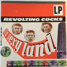 Discos de vinilo: REVOLTING COCKS BIG SEXY LAND DEVOTION DVN 6 UK LP, 1992, EXCELENTE. Lote 115914251