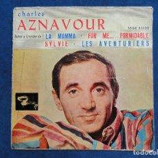 Discos de vinilo: CHARLES AZNAVOUR - SBGE 83120. Lote 115923767