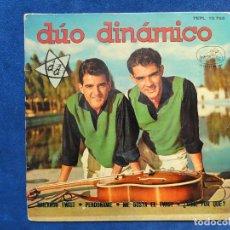 Discos de vinilo: DÚO DINÁMICO - BAILANDO TWIST - 7EPL 13752. Lote 115925707