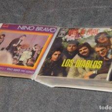 Discos de vinilo: ANTIGUO Y VINTAGE - ESTUCHE CON 12 DISCOS SINGLE VARIADOS - AÑOS 60 / 70 - HAZ OFERTA - ESTUCHE Nº01. Lote 115940907