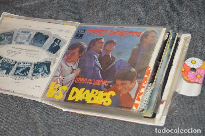 ANTIGUO Y VINTAGE - ESTUCHE CON 12 DISCOS SINGLE VARIADOS - AÑOS 60 / 70 - HAZ OFERTA - ESTUCHE Nº02 (Música - Discos - Singles Vinilo - Grupos Españoles 50 y 60)