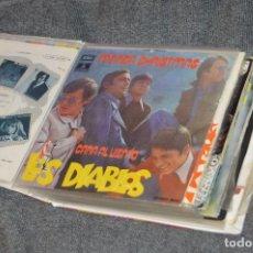 Discos de vinilo: ANTIGUO Y VINTAGE - ESTUCHE CON 12 DISCOS SINGLE VARIADOS - AÑOS 60 / 70 - HAZ OFERTA - ESTUCHE Nº02. Lote 115941103