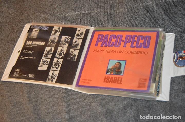 ANTIGUO Y VINTAGE - ESTUCHE CON 12 DISCOS SINGLE VARIADOS - AÑOS 60 / 70 - HAZ OFERTA - ESTUCHE Nº03 (Música - Discos - Singles Vinilo - Grupos Españoles 50 y 60)