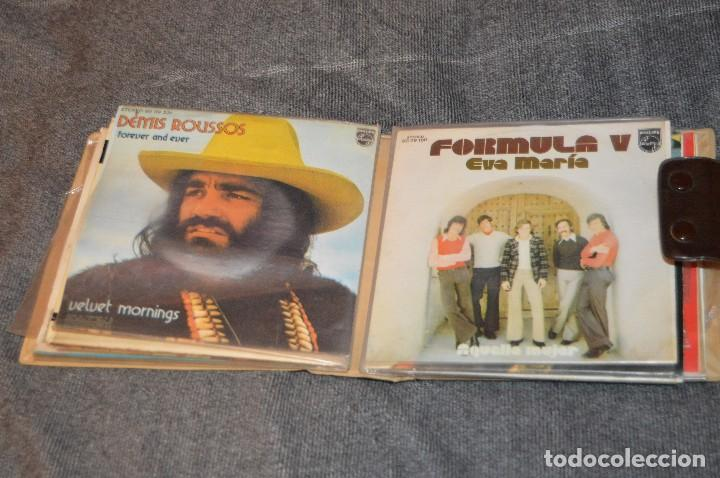 Discos de vinilo: ANTIGUO Y VINTAGE - ESTUCHE CON 12 DISCOS SINGLE VARIADOS - AÑOS 60 / 70 - HAZ OFERTA - ESTUCHE Nº04 - Foto 10 - 115941331