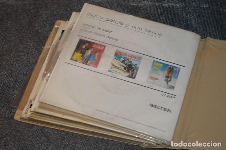Discos de vinilo: ANTIGUO Y VINTAGE - ESTUCHE CON 12 DISCOS SINGLE VARIADOS - AÑOS 60 / 70 - HAZ OFERTA - ESTUCHE Nº04 - Foto 16 - 115941331