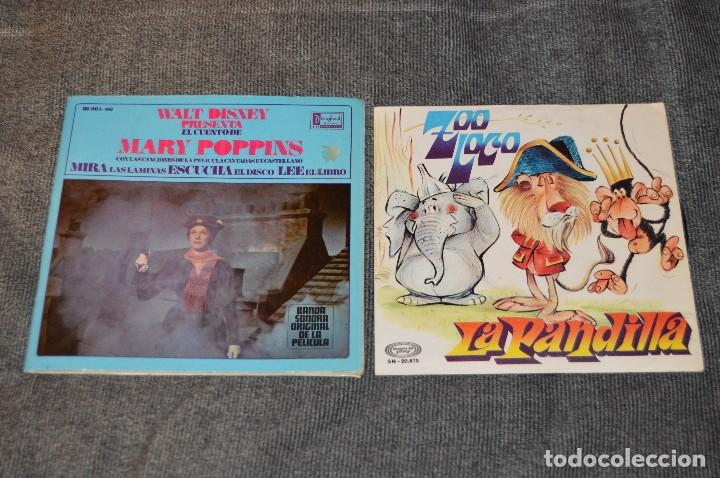 Discos de vinilo: ANTIGUO Y VINTAGE - LOTE CON 5 DISCOS INFANTILES - DISCOS SINGLE DE 45 RPM - AÑOS 60 - HAZ OFERTA - Foto 2 - 115943207