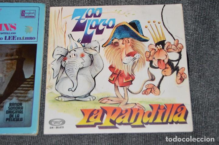 Discos de vinilo: ANTIGUO Y VINTAGE - LOTE CON 5 DISCOS INFANTILES - DISCOS SINGLE DE 45 RPM - AÑOS 60 - HAZ OFERTA - Foto 4 - 115943207
