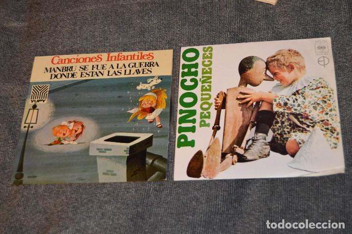 Discos de vinilo: ANTIGUO Y VINTAGE - LOTE CON 5 DISCOS INFANTILES - DISCOS SINGLE DE 45 RPM - AÑOS 60 - HAZ OFERTA - Foto 10 - 115943207