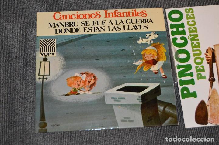 Discos de vinilo: ANTIGUO Y VINTAGE - LOTE CON 5 DISCOS INFANTILES - DISCOS SINGLE DE 45 RPM - AÑOS 60 - HAZ OFERTA - Foto 11 - 115943207