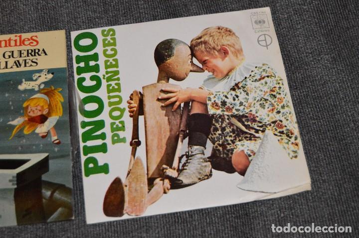 Discos de vinilo: ANTIGUO Y VINTAGE - LOTE CON 5 DISCOS INFANTILES - DISCOS SINGLE DE 45 RPM - AÑOS 60 - HAZ OFERTA - Foto 12 - 115943207