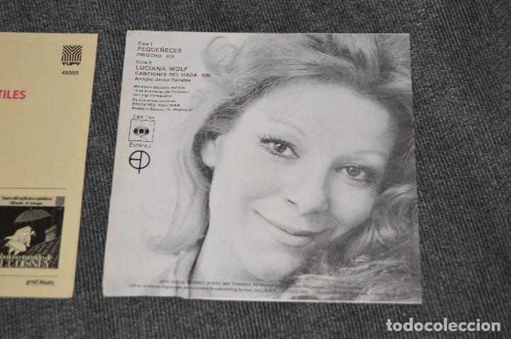 Discos de vinilo: ANTIGUO Y VINTAGE - LOTE CON 5 DISCOS INFANTILES - DISCOS SINGLE DE 45 RPM - AÑOS 60 - HAZ OFERTA - Foto 13 - 115943207