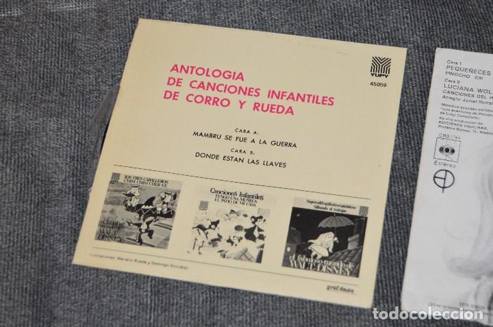 Discos de vinilo: ANTIGUO Y VINTAGE - LOTE CON 5 DISCOS INFANTILES - DISCOS SINGLE DE 45 RPM - AÑOS 60 - HAZ OFERTA - Foto 14 - 115943207