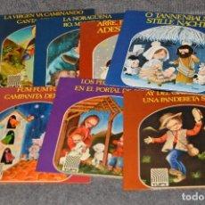 Discos de vinilo: ANTIGUO Y VINTAGE - LOTE CON 8 DISCOS VILLANCICOS - DISCOS SINGLE DE 45 RPM - AÑOS 60 - HAZ OFERTA. Lote 115944447