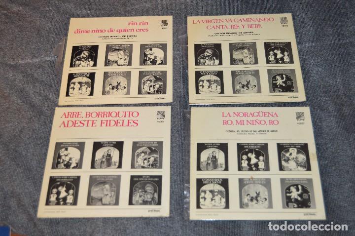 Discos de vinilo: ANTIGUO Y VINTAGE - LOTE CON 8 DISCOS VILLANCICOS - DISCOS SINGLE DE 45 RPM - AÑOS 60 - HAZ OFERTA - Foto 3 - 115944447