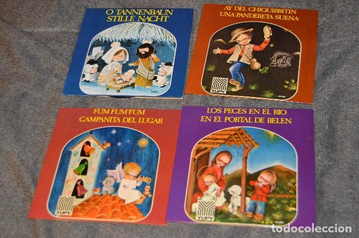 Discos de vinilo: ANTIGUO Y VINTAGE - LOTE CON 8 DISCOS VILLANCICOS - DISCOS SINGLE DE 45 RPM - AÑOS 60 - HAZ OFERTA - Foto 5 - 115944447