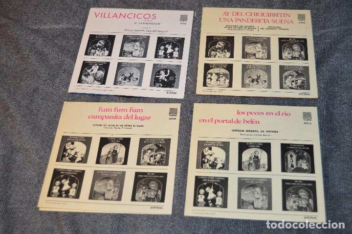 Discos de vinilo: ANTIGUO Y VINTAGE - LOTE CON 8 DISCOS VILLANCICOS - DISCOS SINGLE DE 45 RPM - AÑOS 60 - HAZ OFERTA - Foto 6 - 115944447