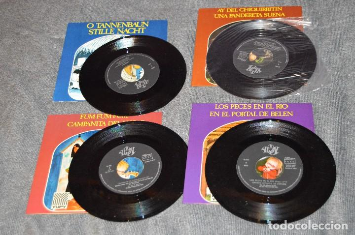 Discos de vinilo: ANTIGUO Y VINTAGE - LOTE CON 8 DISCOS VILLANCICOS - DISCOS SINGLE DE 45 RPM - AÑOS 60 - HAZ OFERTA - Foto 7 - 115944447