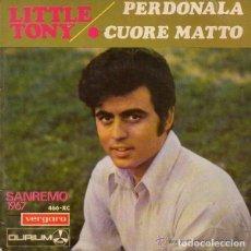 Discos de vinilo: LITTLE TONY / LOS MARCELLOS FERIAL- FESTIVAL DE SANREMO - EP VERGARA 1967. Lote 115953663