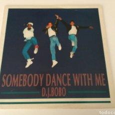 Discos de vinilo: DJ BOBO - SOMEBODY DANCE WITH ME. Lote 118570846