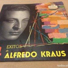 Discos de vinilo: ALFREDO KRAUS. 4 EXITOS. DOÑA FRANCISQUITA, EL TRUST DE LOS TENORIOS,ALMA DE DIOS,LA ALEGRIA DEL.... Lote 115986143
