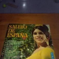 Discos de vinilo: SALERO DE ESPAÑA. PELEA EN BROMA. EL PARTIDO POR LA MITAD. SOLTERA YO NO ME QUEDO. B17V. Lote 116048055