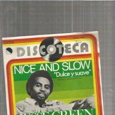 Discos de vinil: JESSE GREEN NICE. Lote 116059755