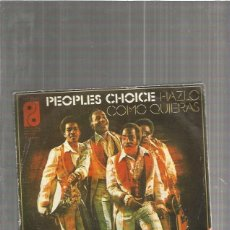 Discos de vinilo: PEOPLES CHOICE HAZLO. Lote 116059995