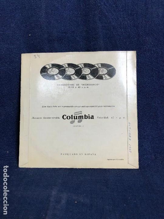 Discos de vinilo: emanuel vardi y su orquesta la estrellita celos la golondrina la paloma columbia 1958 - Foto 2 - 116069555