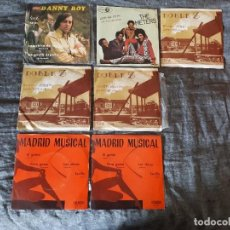 Discos de vinilo: LOTE 16 SINGLES Y EPS - VINILOS AÑOS 60-70. Lote 116076439
