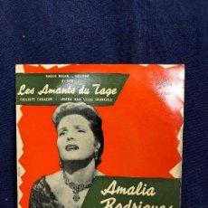 Discos de vinilo: AMALIA RODRIGUES LES AMANTS DU TAGE BARCO NEGRO SOLIDAO FALLASTE CORAZON LISBOA NAO SEJAS FRANCESA. Lote 116076683