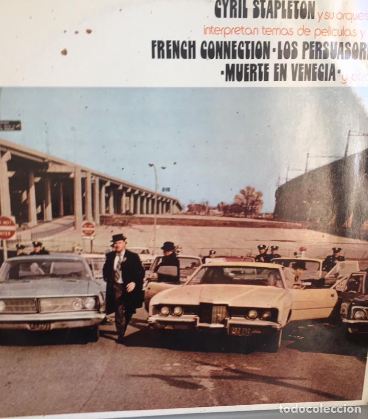 CYRIL STAPLETON Y SU ORQUESTA. TEMAS DE PELÍCULAS (VER FOTO). PYE 1972 (Música - Discos - LP Vinilo - Orquestas)