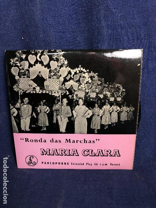 RONDA DAS MARCHAS PORTUGAL MARIA CLARA PARLOPHONE 45 R P M (Música - Discos de Vinilo - EPs - Étnicas y Músicas del Mundo)