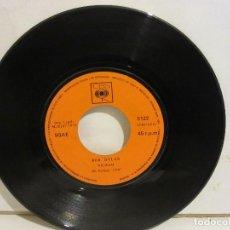 Discos de vinilo: BOB DYLAN - WIGWAM / CALDERA DE COBRE - 1970 - CBS - SPAIN - VG / SIN PORTADA. Lote 116079095