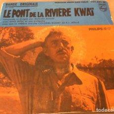 Discos de vinilo: BANDE ORIGINALE LE PONT DE LA RIVIERE KWAI.. Lote 116087879