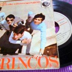Discos de vinilo: LOS BRINCOS RENACERA/UN SORBITO DE CHAMPAGNE/GIULIETTA/TU EN MI 7'' EP 1966 NOVOLA. Lote 116096119