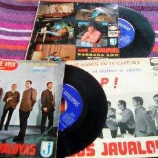 Discos de vinilo: LOS JAVALOYAS ¡3 EPS! 12 CANCIONES EMI: QUIERO, ¡SOCORRO!, BARBARA ANN, MIS MANOS EN TU CINTURA.... Lote 116098783