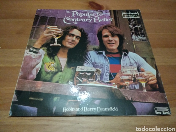 POPULAR CONTRARY BELIEF - ROBIN SND BARRY DRANSFIELD - (Música - Discos - LP Vinilo - Country y Folk)