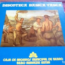 Discos de vinilo: DISCOTECA BÁSICA VASCA GERNIKAKO ARBOLA, BETI MAITE, AGUR JAUNAK, ADIO EUSKALERRIARI...LP. Lote 116106867