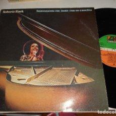 Discos de vinilo: ROBERTA FLACK-LP SUAVEMENTE ME MATA CON SU CANCION. Lote 116106959