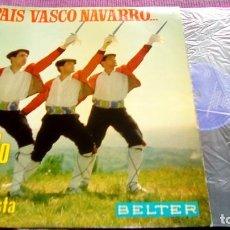Dischi in vinile: MI PAÍS VASCO NAVARRO... SHEGUNDO GALARZA Y SU ORQUESTA BELTER. Lote 116107755