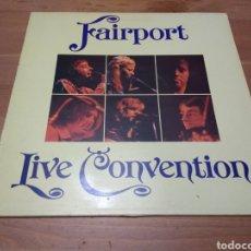 Disques de vinyle: FAIRPORT CONVENTION - LIVE -. Lote 116110496