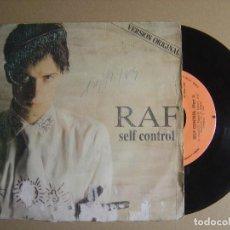 Dischi in vinile: R.A.F. - SELF CONTROL - SINGLE ESPAÑOL 1984 - CARRERE. Lote 116111647