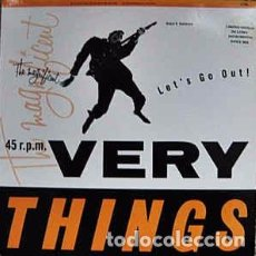 Discos de vinilo: THE VERY THINGS - LET'S GO OUT! (12, LTD) LABEL:ONE LITTLE INDIAN CAT#: 12TP 8 . Lote 116122651