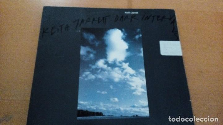 KEITH JARRETT DARK INTERVALS LP EMC (Música - Discos - LP Vinilo - Jazz, Jazz-Rock, Blues y R&B)