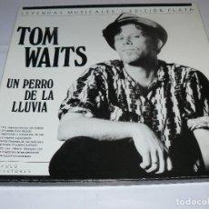 Discos de vinilo: TOM WAITS CARPETA CON 3 LPS UN PERRO DE LA LLUVIA. Lote 116133487